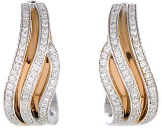Chimento 18K Two-Tone 0.54 Ct. Tw. Diamond Earrings