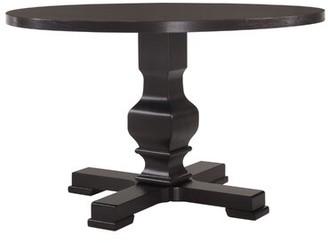 Gracie Oaks Bloomingdale Round Pedestal Dining Table Gracie Oaks