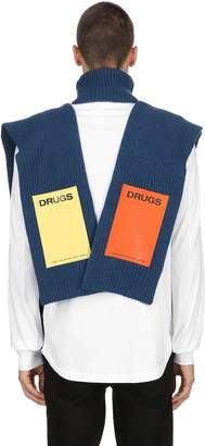Raf Simons Turtleneck Vest W/ Patches