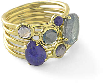 Ippolita 18k Rock Candy Gelato 6-Stone Cluster Ring in Liberty