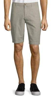 Ben Sherman Tonic Cotton Linen Shorts