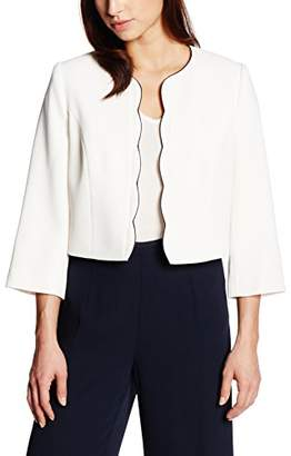 Jacques Vert Women's Scallop Edge Jacket