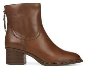 Franco Sarto Liliana Distressed Leather Boots