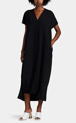 ROUCHA Women's Dome Silky Crepe Shift Dress - Black