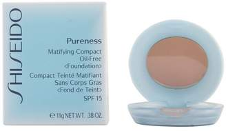 Shiseido Pureness Matifying Compact Oil Free Foundation SPF15 (Case + Refill) - # 40 Natural - 11g/0.38oz