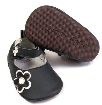 Baby Tommy Tickle Floral Applique Mary Jane Crib Shoes