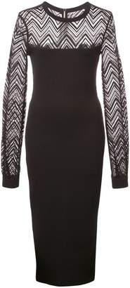 Roland Mouret fitted midi dress