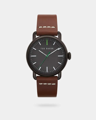 Ted Baker TOMCOOC Calf leather strap watch