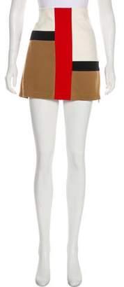 Diane von Furstenberg A-Line Mini Skirt
