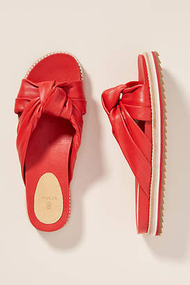 Bill Blass Padget Leather Sandal Slides