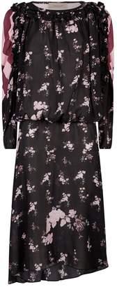 Preen Line Sora Contrast Midi Dress