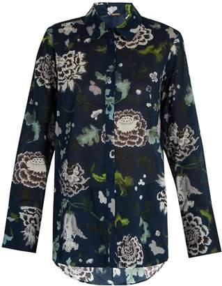 ADAM by Adam Lippes Floral-print cotton shirt