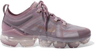 Nike Air Vapormax 2019 Mesh And Pvc Sneakers - Pink