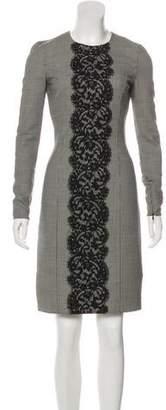 Michael Kors Virgin wool Houndstooth Dress
