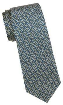 Saks Fifth Avenue Printed Silk Tie