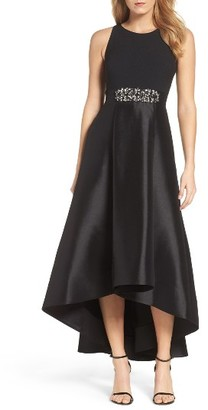 Women's Eliza J Embellished High/low Gown $248 thestylecure.com