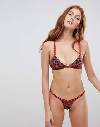 Free People Hazel lace thong