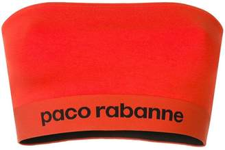 Paco Rabanne stretch-jersey bandeau top