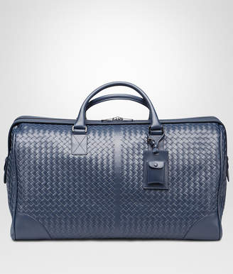 Bottega Veneta LARGE DUFFEL BAG IN LIGHT TOURMALINE INTRECCIATO VN
