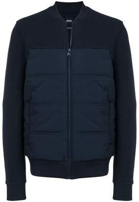 HUGO BOSS padded bomber jacket