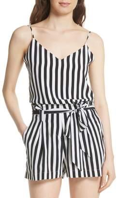 L'Agence Jane Stripe Silk Camisole