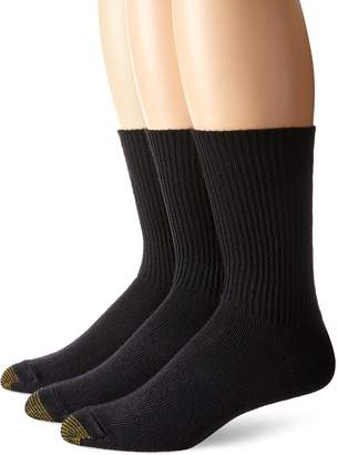 Gold Toe Men's Fluffies Casual Sock 3-Pack