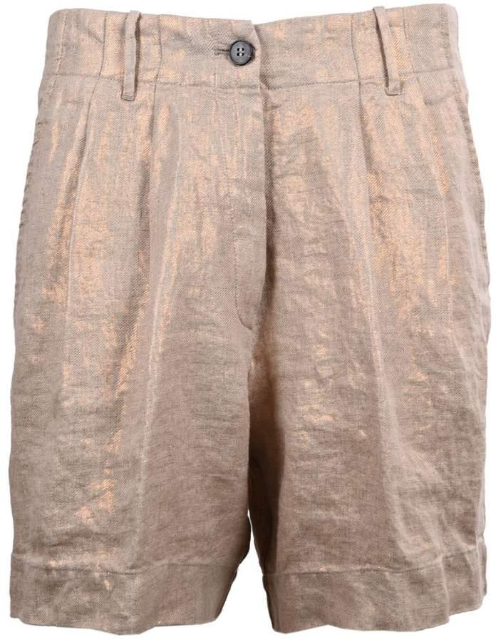 Forte_Forte Metallic Shorts