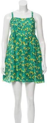 Anna Sui Silk Printed Dress w/ Tags