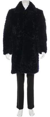 Ann Demeulemeester Shearling Overcoat