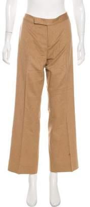 Ralph Lauren Camel-Blend Mid-Rise Pants