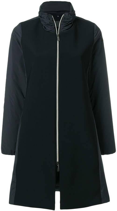 Rrd panelled zipped coat