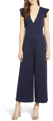 Pam & Gela Ruffle Sleeve Jumpsuit