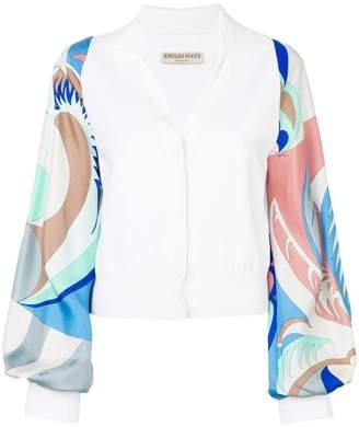Emilio Pucci Acapulco Print Long Sleeves Blouse