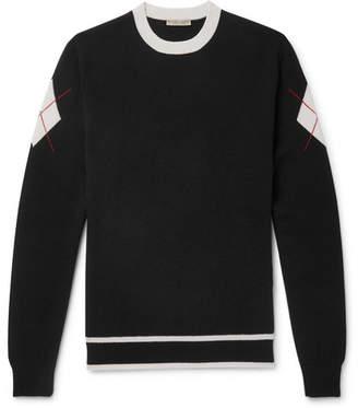 Bottega Veneta Intarsia Cashmere Sweater