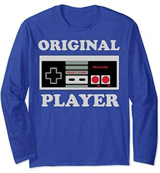Nintendo NES Controller Original Player Long Sleeve Tee