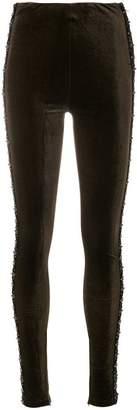Koché beaded leggings