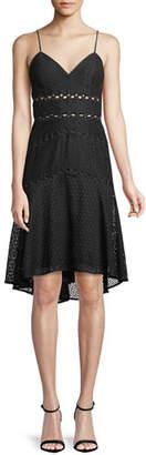 Bardot Ariana Lace High-Low Dress