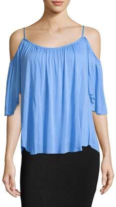 Bailey 44 Women's Cold-Shoulder Gather Top