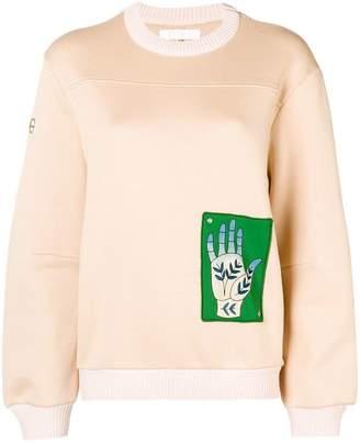 Chloé hand printed sweatshirt