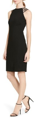 Women's Lauren Ralph Lauren Jersey Sheath Dress $165 thestylecure.com