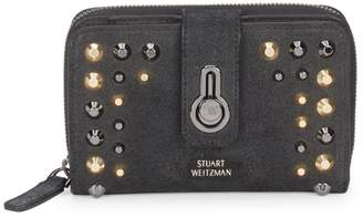 Stuart Weitzman Soho Nertes Leather Wallet