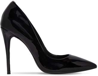 Steve Madden 100mm Daisie Faux Patent Leather Pumps