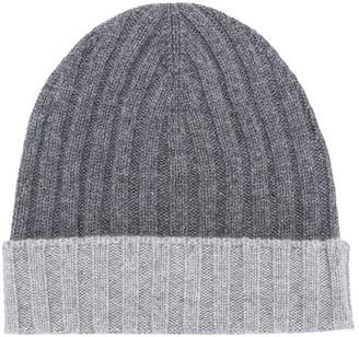 Barba contrast knit cap