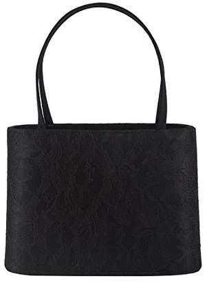 Farfalla Womens 90090 Clutch Black