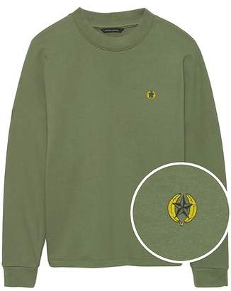 Banana Republic JAPAN ONLINE EXCLUSIVE French Terry Dolman-Sleeve Giraffe Graphic Sweatshirt