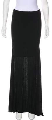 L'Agence Knit Maxi Skirt