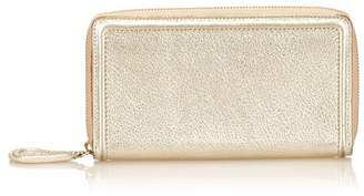 Givenchy Vintage Metallic Leather Wallet