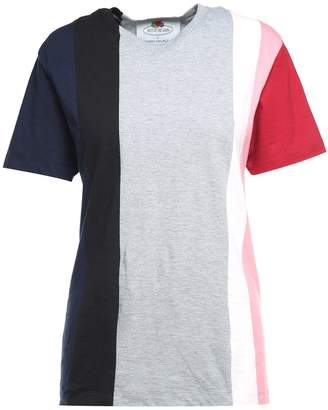 Cédric Charlier Striped Cotton-jersey T-shirt Fruit Of The Loom X