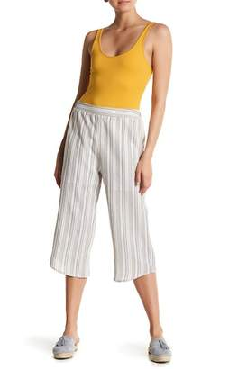 Blend of America Abound Linen Cropped Gaucho Pants