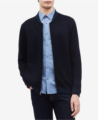 Calvin Klein Men's Milano Full-Zip Sweater